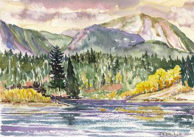 © Jean Blackall Beaver Mines Lake No. 3 Watercolour