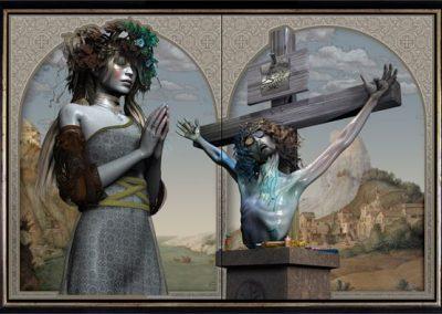 © John Hoyt The Penitent Magdalene