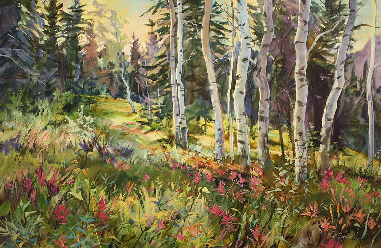 © Brent Laycock Paintbrush Meadow Acrylic