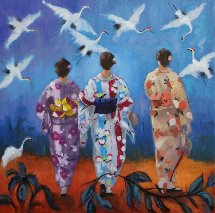 © Wanda Rottenfusser Birds Of Happiness