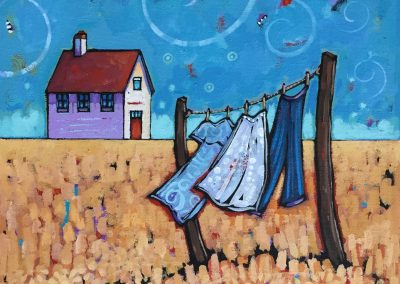 © Pam Weber Laundry Day I