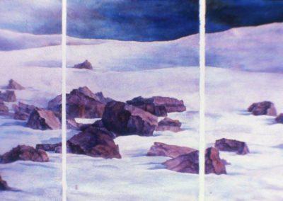 © Yuriko Kitamura Meditation at ice flield