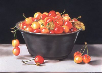 "© Rose Zivot Rainier Cherries 22.5"" x 30"""