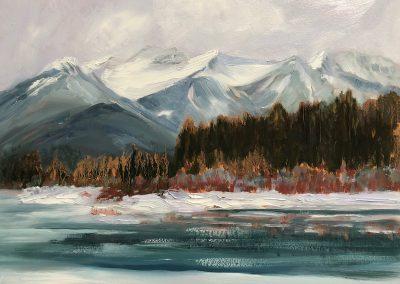 © Debra Ward Vermillion Lake Winter